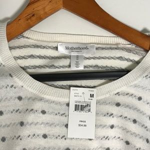 Motherhood Maternity Sweaters - NWT Motherhood Crew Neck Maternity Sweater